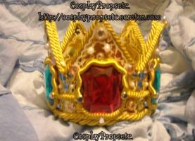 Princess Peach SSBB Crown by CosplayPropsEtc