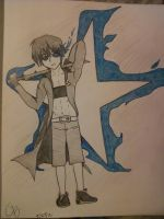 black rock shooter (guy ver.) by TwilightShooter