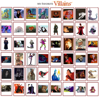 My Fav Villains *Updated* by Nukarulesthehouse1