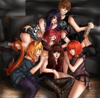 Saschas Harem by Niz93