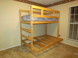 Bunk Bed Twin over Full by Lupas-Deva