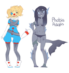 Phobia Adoptables 01 [CLOSED] by Kuripu
