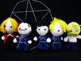 Full Metal Alchemist Dolls by Nissie