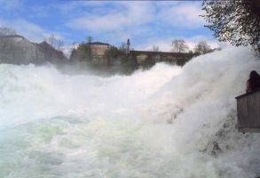 Rheinfall Switzerland by Akeen7000
