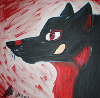 red black white by the-gaywolf
