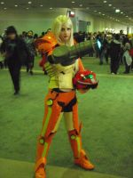 Samus Cosplayer by stormx6
