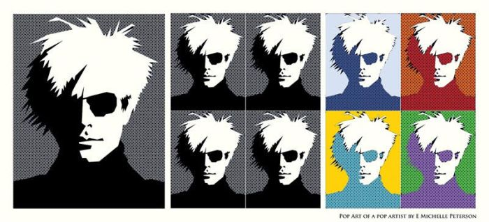 Andy Warhol (Version 2) by RetroYeti