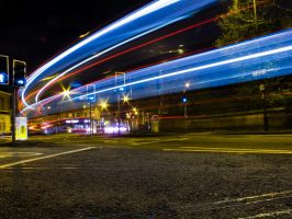 Late night traffic by Spinneyhead