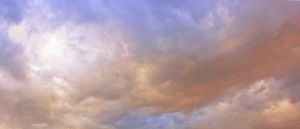 Stormy pink clouds by CathleenTarawhiti