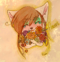 flowers by Banaanimuffinssi