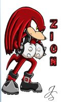 Zion the Echidna by SonicMaster23