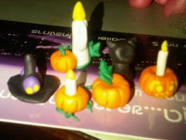 MLP Halloween Ornaments by Winged-Dragoness