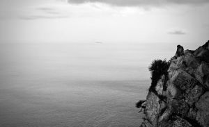 Overlooking the Sea by donnosch
