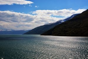 Sailing the fjords to Skjolden 17 by abelamario