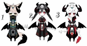 Demon kemonommi adoptable batch CLOSED by AS-Adoptables