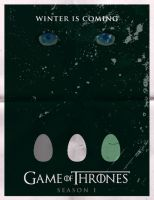 Game of Thrones Season 1 Poster by rycz