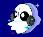 Undertale- Napstablook! by HappyBoltt