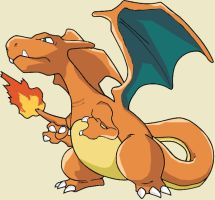 Charizard again by Beren-BR