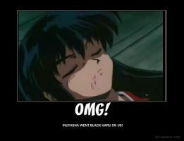 Inuyasha OMG Moment by iamthemarvelqueen