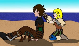 Hiccup Feels Pretty (Stupid) by GeminiEarthDragon