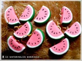 Commission: 1 of 9 Watermelons by numb-existence