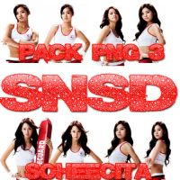SNSD PNG PACK 3 by Soheecita