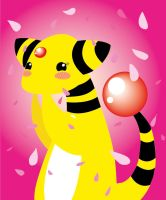 Ampharos used attract by PetiteLaSouris