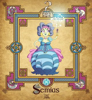 The Four Fairy Masters: Semias by travellustrator