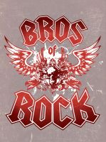 Bros of Rock by Joey-Zero