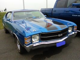 blue Chevelle by sevenxlives