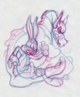 Bugs Bunny Construction by Shadowleaper