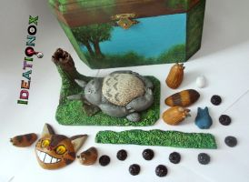 An new kind  of project! Totoro Deco  Box by Ideationox