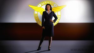 Hayley Atwell Agent Carter (Paint) by Dave-Daring