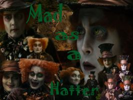 Mad Hatter wallpaper by CrystalEthelstein