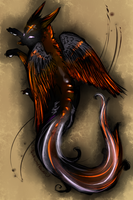 Sketch: Brimstone Adopt (SOLD) by MischievousRaven