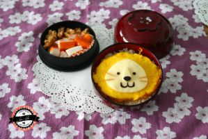 Bento Little Lion by RiYuPai