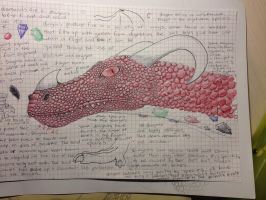 Smaug the pretty darn magnificent by WhiteOrchid14