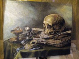 Copy painting  Pieter Claesz by Dignare