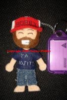 Supernatural Bobby Keyring by Coppa-Hayz