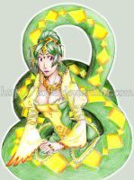 Snake Lady by Cofie