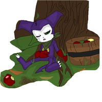 Sleeping By the Apple Tree by SweetheartedSadist