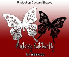 Fantasy Butterfly PS csh by alesscop