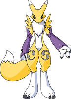 My Renamon Drawing by omegamanthe