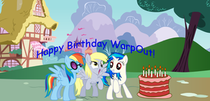 Happy Birthday WarpOut! by Tyler8916