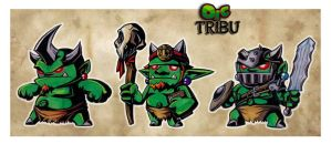Orc Tribu by AbrahamGart