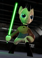 LC: Andan Mallix - lightsaber's test by Neros1990