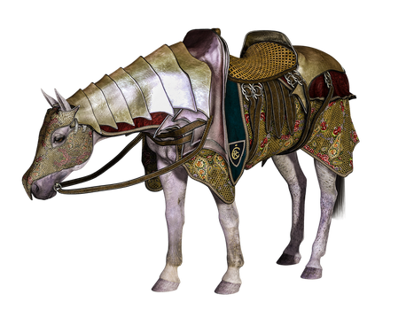 Knight Horse by SuicideOmen