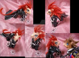 KH2 Axel commission by LightningSilver-Mana