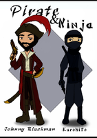 Pirate and Ninja by Oreramar