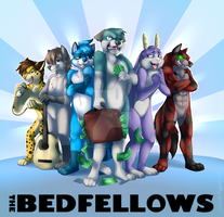 The Bedfellows!-Commission by IceCatDemon